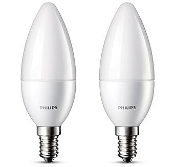 Philips E14 Ampoule Flamme Incandescence Culot 3w Consommés De Équivalence 25w Led 2 Lot Ampoules 3LqAcj54RS