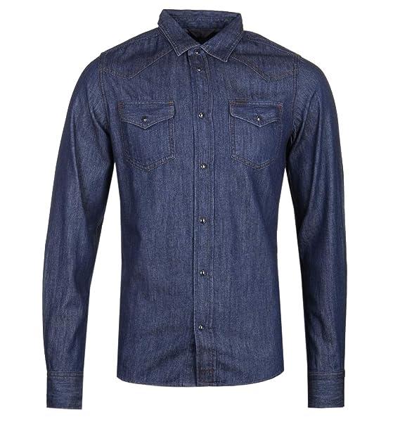 3cfb5731bb Diesel Sonora Denim Western Shirt  Amazon.co.uk  Clothing