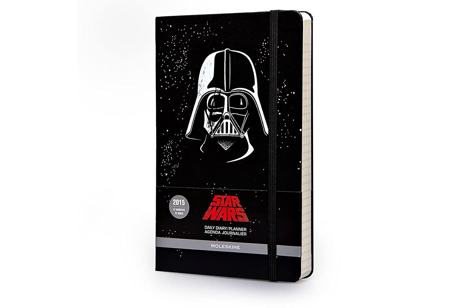 Amazon.com : Moleskine 2015 Star Wars Limited Edition Daily ...