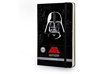 Agenda 2015 Star Wars Journalier Gd Format Couv Rigide Noir (Moleskine Star Wars)