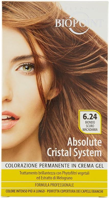 BIOPOINT Absolute Color Marrón Macadamia Color Tinte permanente del pelo
