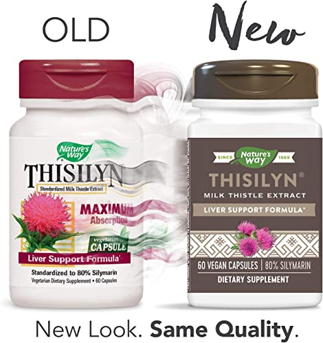 Nature s Way Thisilyn Standardardized Milk Thistle Extract