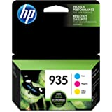 HP 935 | 3 Ink Cartridges | Cyan, Magenta, Yellow | Works with HP OfficeJet 6800 series, HP OfficeJet Pro 6230, 6800 series |