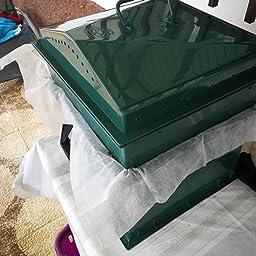 vidaXL Compostador para Gusanos con 4 Bandejas Verde ...