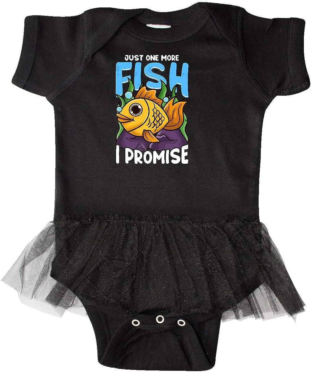 inktastic Fish Joke Goldfish Pet Infant Tutu Bodysuit