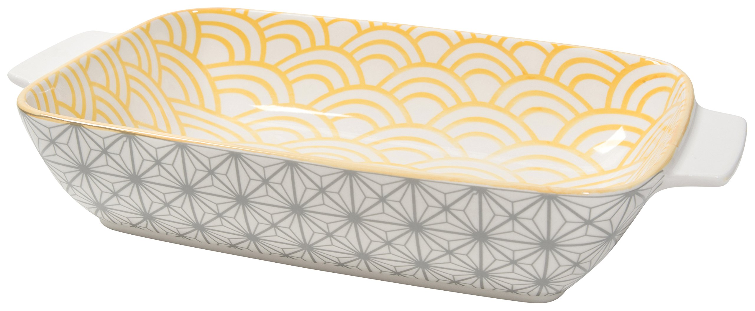 Now Designs Stamped Baking Dish, 7.5 inches by 11 Inches, Sunrock Design