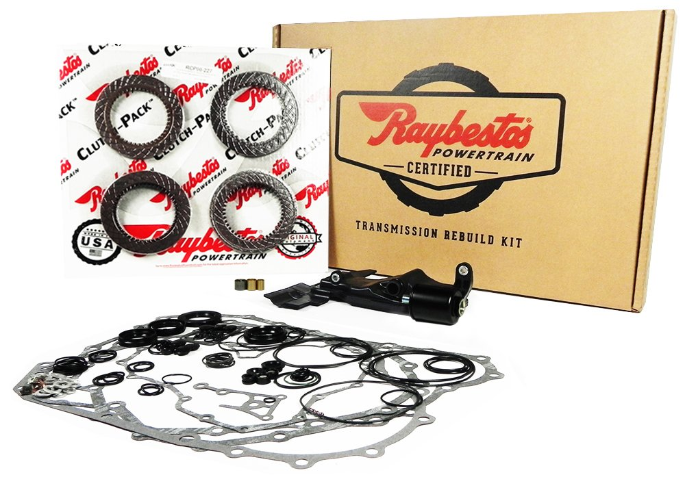 BYBA ODY. 02-04 TRANSMISSION REBUILD RAYBESTOS SUPER KIT LESS STEELS