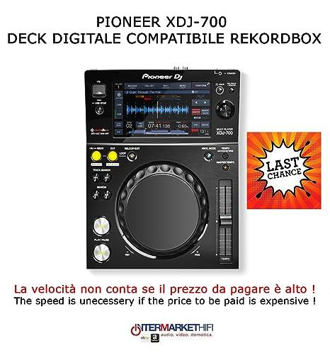 Pioneer xdj-700 Deck Compatible Digital rekordbox: Amazon co