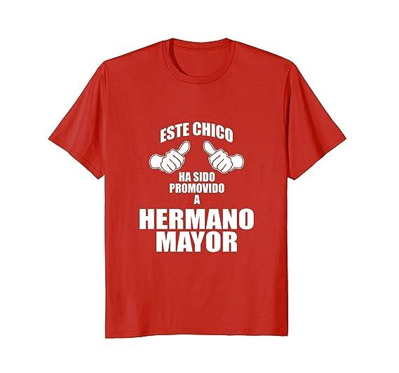 Amazon.com: Este Chico Ha Sido Promovido a Hermano Mayor Big Brother Tee: Clothing