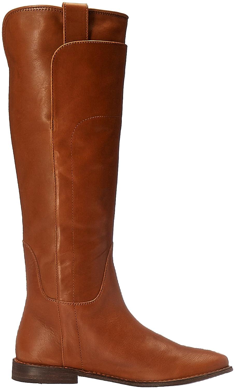 FRYE Women's Paige Tall Riding Boot B0193YSAZ0 6 B(M) US|Cognac-76536