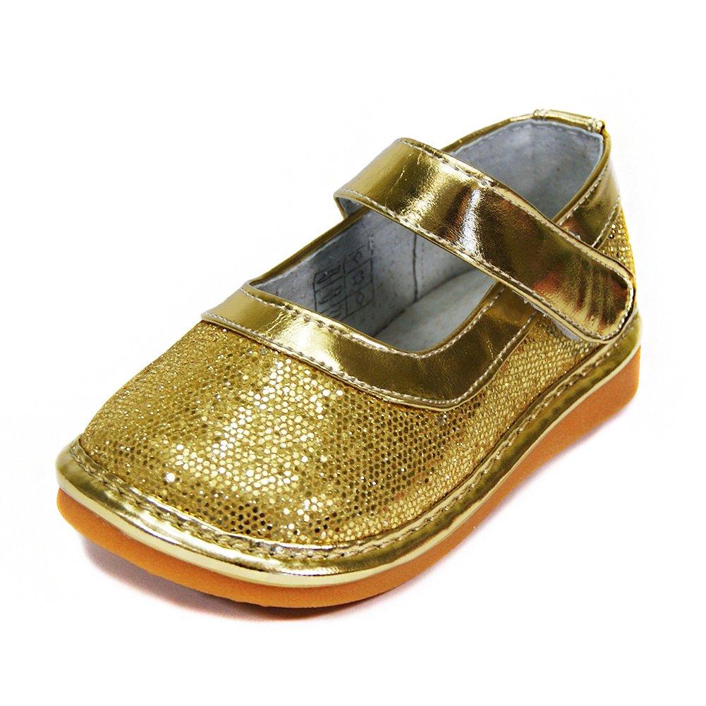 HLT Toddler//Little Kid Girl Sparkling Squeaky Shoe
