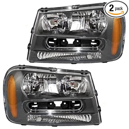 Amazon driver and passenger headlights headlamps replacement driver and passenger headlights headlamps replacement for chevrolet 25970915 25970914 freerunsca Images