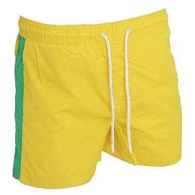 62858dd9f3 Brave Soul Mens Swimming Shorts Side Stripe Drawcord: Amazon.co.uk: Clothing