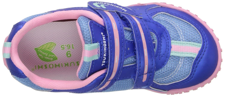 Tsukihoshi Wheel Casual Sneaker Royal//Pink 9.5 M US Toddler Wheel Toddler//Little Kid//Big Kid K