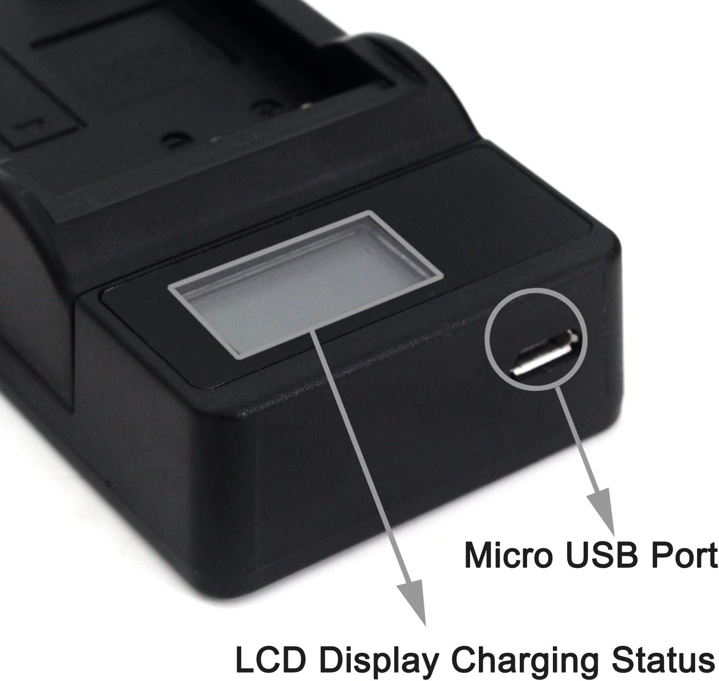 NP-140 LCD Slim USB Charger for Fujifilm FinePix S100FS Finepix S200EXR FinePix S200FS FinePix S205EXR