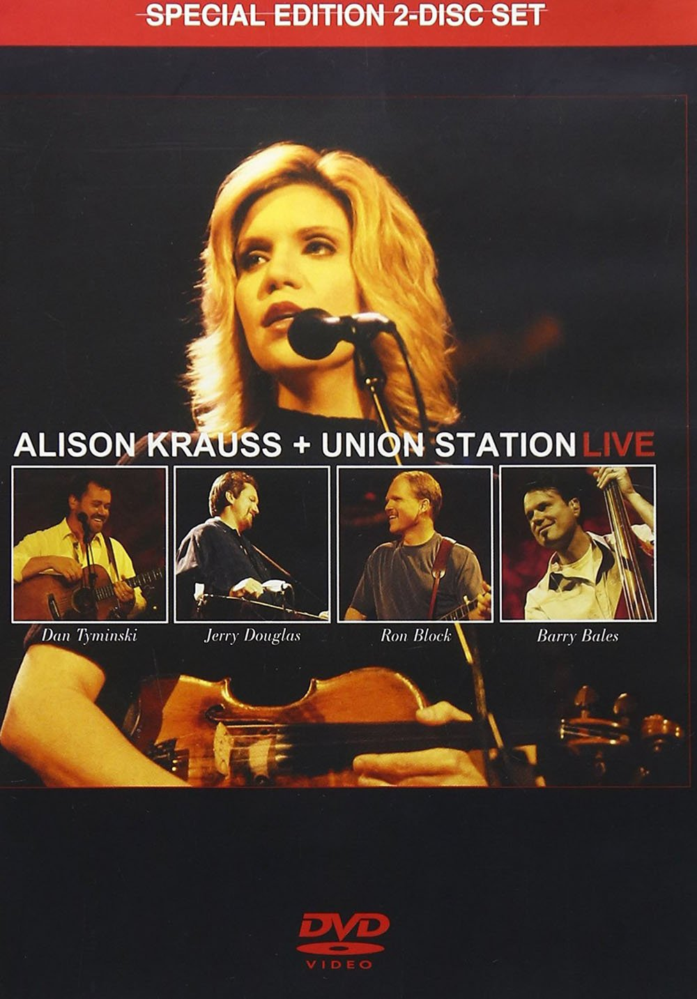 DVD : Alison Krauss - Live (Special Edition)