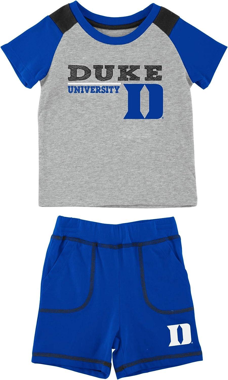 Colosseum Duke Blue Devils Infant Boys Brant Shirt and Shorts Set