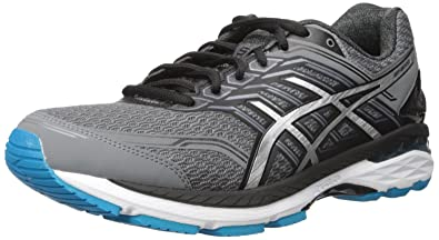 ASICS Men's GT-2000 5 (B) Running Shoe, Carbon/Silver/
