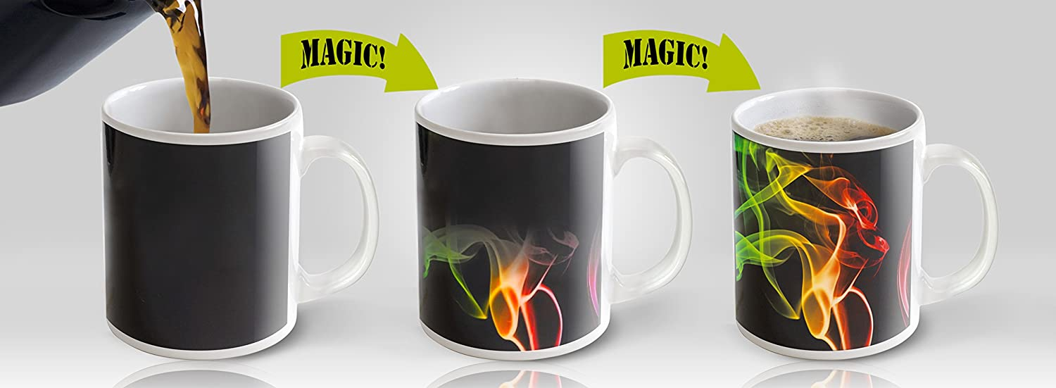 Coffee cup you can smoke out of - Amazon Com Heat Sensitive Mug Color Changing Coffee Mug Funny Coffee Cup Smoke Design 11oz Funny Coffee Tea Cup 100 Ceramic Kitchen Dining