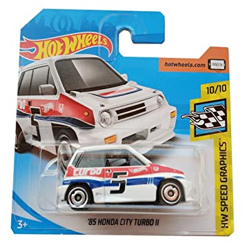 Hot Wheels 85 Honda City Turbo II - HW Speed Graphics - 2018 68/365: Amazon.es: Juguetes y juegos