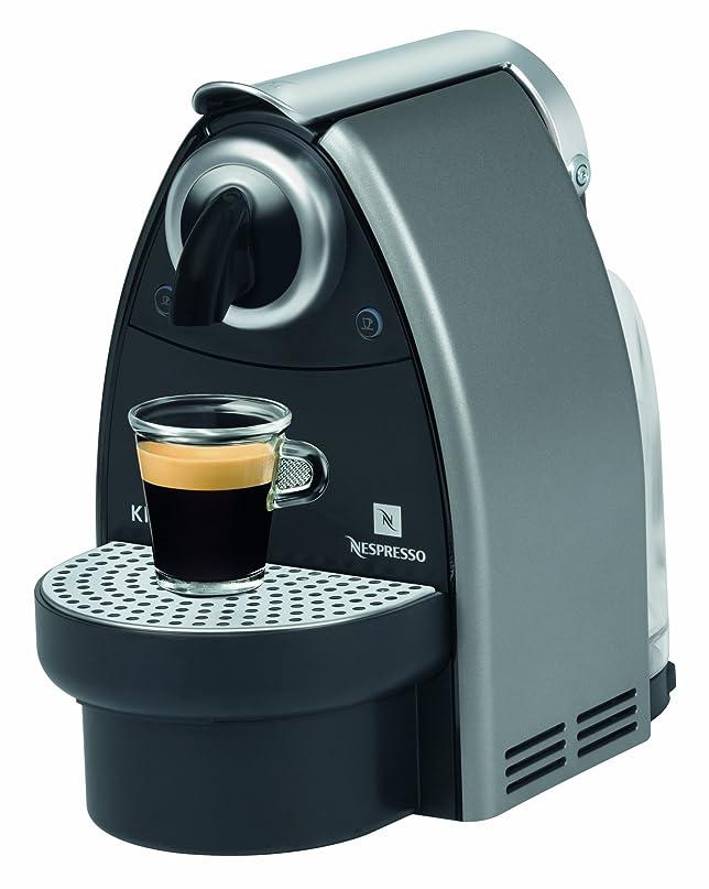 Krups XN 2125 Nespresso New Essenza Flow Stop, colore: Grigio ...