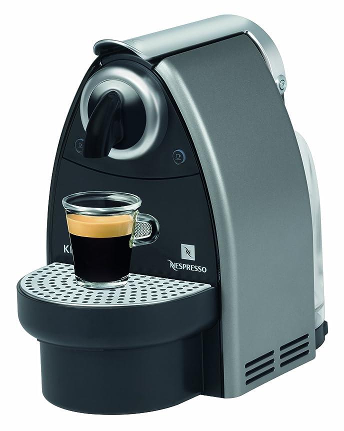 Krups Nespresso Essenza Eco Coffee Maker Titanium - XN2125: Amazon ...