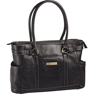 Clark & Mayfield Hawthorne Leather Laptop Handbag 17.3""
