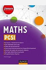 Maths PCSI (J'assure aux concours) (French Edition) Paperback