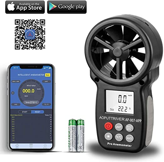 HAND HELD 3-1 Wind Speed Thermometer Anemometer Humidity Wind Chill Indicator