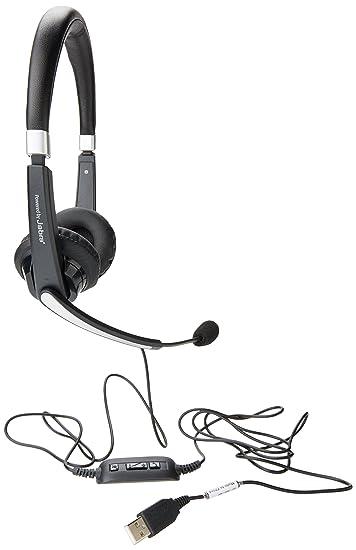 Amazon Com Dell Pro Stereo Headset Uc300 Computers Accessories