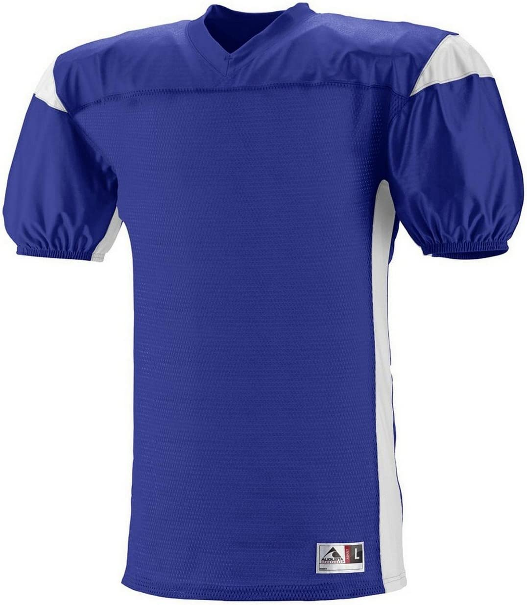 9521 AG YTH DOMINATOR MESH JERSEY PURPLE/ WHITE L