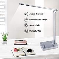 Lámpara escritorio LED con 6 Niveles,Lámpara de Mesa