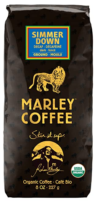 Marley Coffee, Organic Simmer Down Decaffeinated Coffee