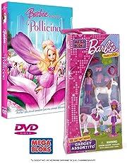 Barbie Presenta Pollicina + Gadget Costruzioni Assortito