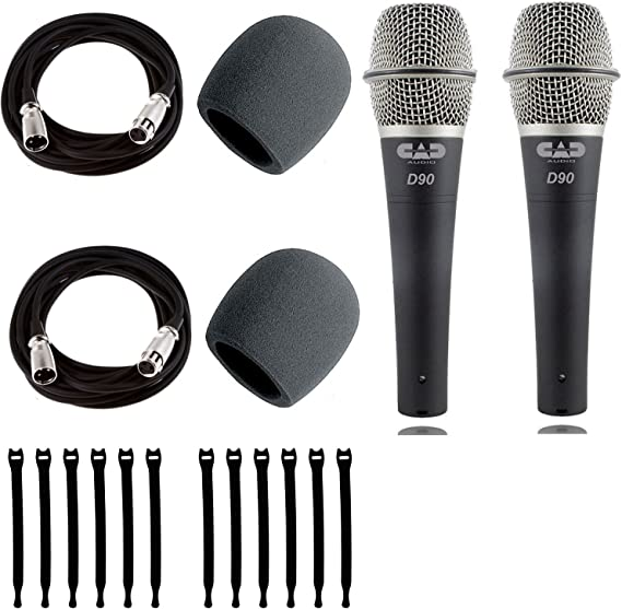 CAD Live Premium wired dynamic handheld microphone mic D90