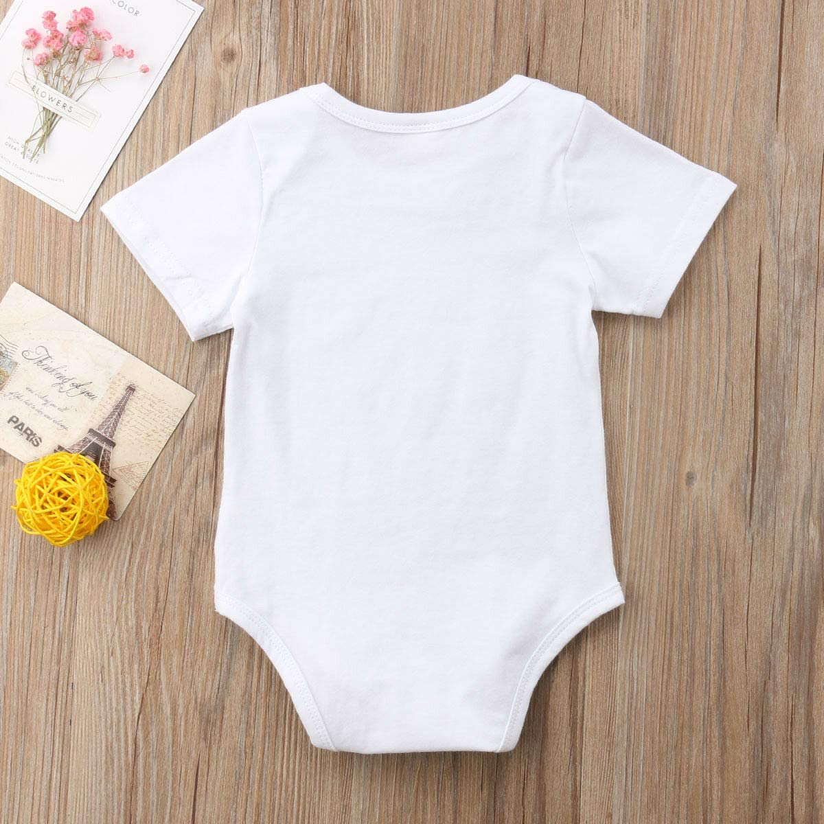 Carolilly Baby Clothes Newborn Twins Boy and Girl Big Brother T-Shirt Little Sister Bodysuit Matching Outfits
