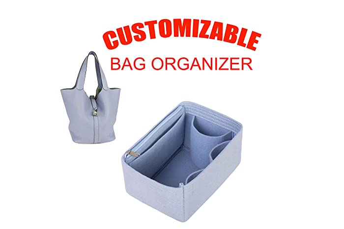 3ef5460193c2 Amazon.com  Bag insert organizer for Hermes Picotin 22 26  Handmade