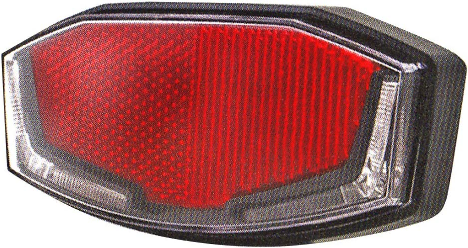 Rouge Spanninga V610012A Eclairage arri/ère Mixte Adulte