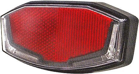 Spanninga v610012 a luz Trasera para Bicicleta (Unisex, Rojo ...