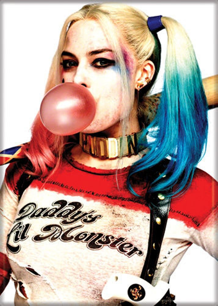 Suicide Squad - Harley Quinn Bubble - Refrigerator Magnet