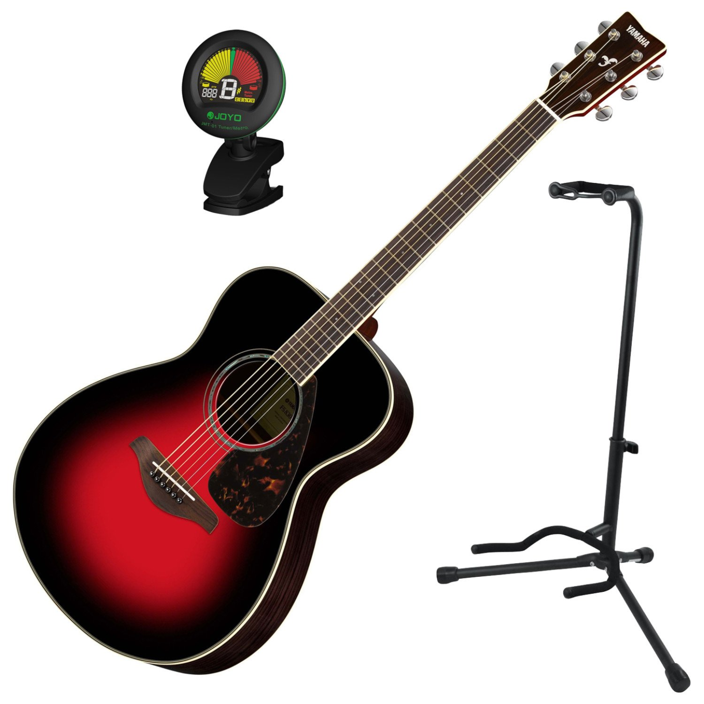 Yamaha fs830dsr sólido Sitka Top Pequeño cuerpo Folk Guitarra ...