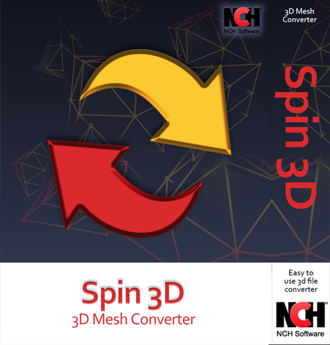Spin3D Free 3D File Converter - Convert STL, 3DS, 3DP, 3MF, OBJ and PLY [Download]