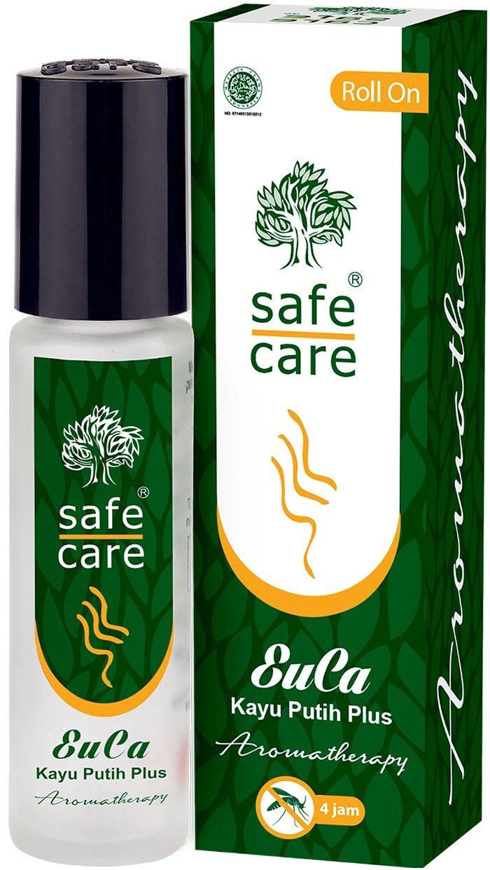 Safe Care EuCa Roll On (Eucalyptus Oil / Cajuput Oil), 10 ml (Pack of 6)