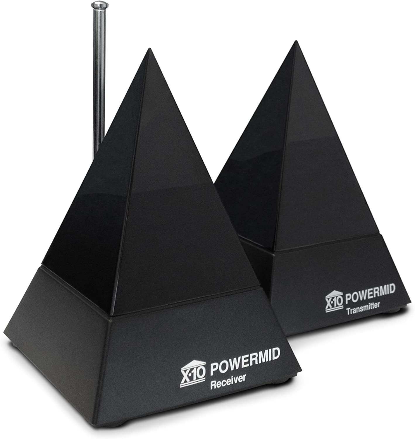 Includes a Transmitter and Receiver X10 Powermid PM5900 Remote Control Extender Kit Infrared Only No Video