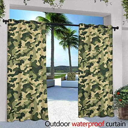 Amazon.com: Outdoor Blackout Curtains,Dibujado a mano cartel ...
