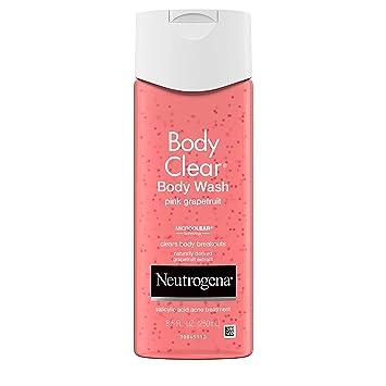 Amazon Com Neutrogena Body Clear Acne Treatment Body Wash With 2