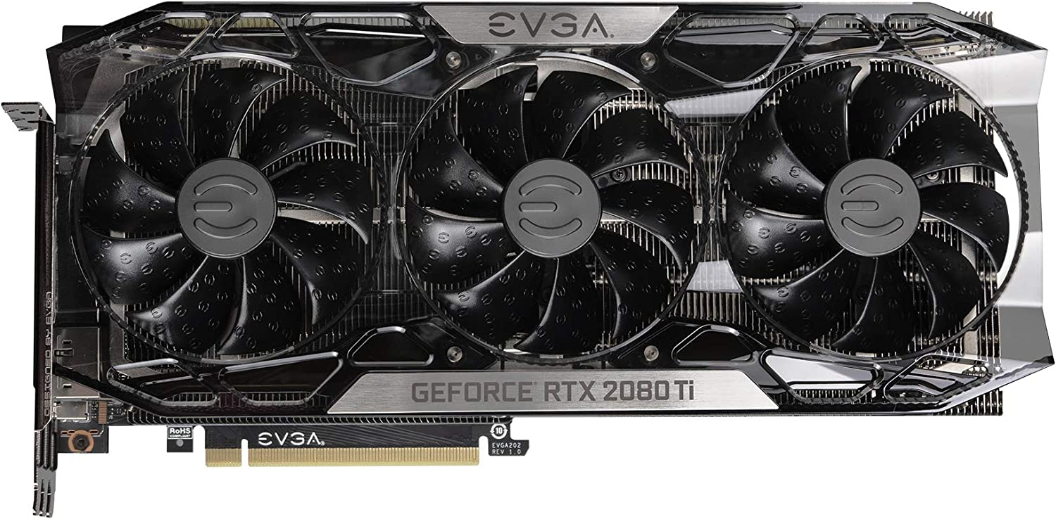 EVGA GeForce RTX 2080 Ti Ftw3 Ultra, Overclocked, 2.75 Slot Extreme Cool Triple + iCX2, 65C Gaming, RGB, Metal Backplate, 11GB GDDR6, 11G-P4-2487-KR