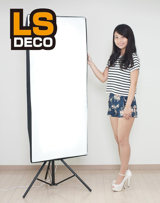 LS DECO 撮影ライト ハイパワーLED LD4スタンドセット【LEDランプ1800ルーメン×4】(27965)   B014IVI8LY