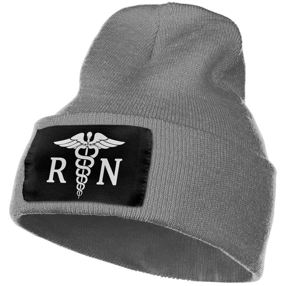 Unisex Winter Hats Nurse Symbol Skull Caps Knit Hat Cap Beanie Cap for Men//Womens