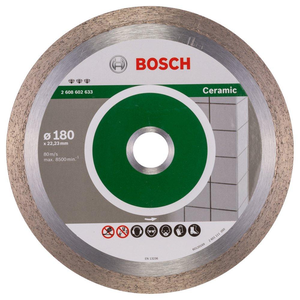 2608602633 BOSCH 180MM DIAMOND CUTTING DISC BEST FOR CERAMIC